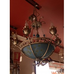 1-9095-6-47 LAMPARA CRISTAL...