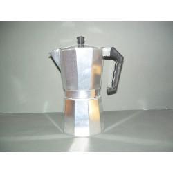Cafetera 9 tazas aluminio