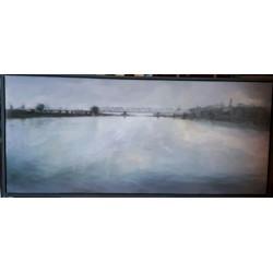 pintura 117x53 al óleo